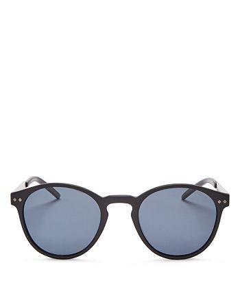 Polaroid - Men's Polarized Combination Round Sunglasses, 50mm