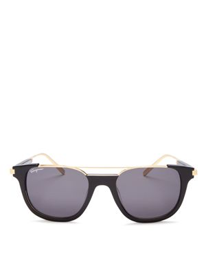 Salvatore Ferragamo Top Bar Square Sunglasses, 52mm