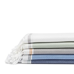 Coyuchi - Mediterranean Organic Cotton Guest Towel