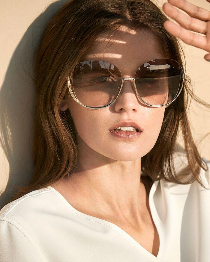 c83d35e26a Chloé - Women s Milla Oversized Round Sunglasses
