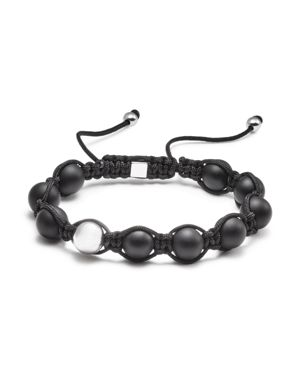 Vitaly Orbis x Black-Stainless Steel Bracelet