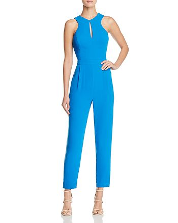 Adelyn Rae - Front-Keyhole Jumpsuit