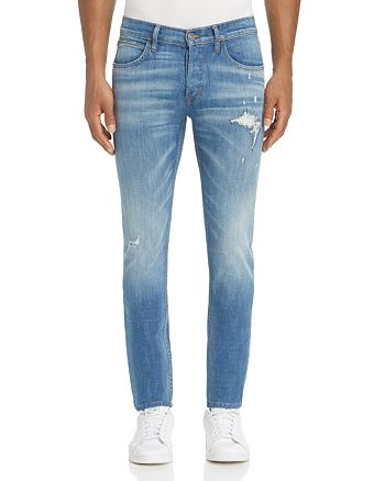 Hudson - Axel Super-Slim Fit Jeans in Heavyweight