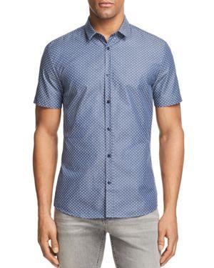 Hugo Boss Empson Slim Fit Button-Down Shirt