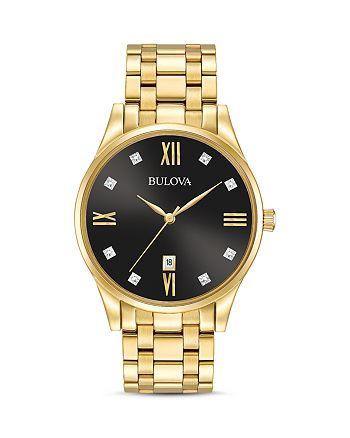 Bulova - Diamonds Watch, 40mm