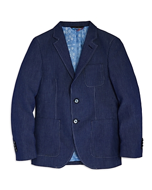 Robert Graham Boys Striped Sports Coat  Big Kid