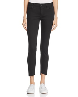 DL1961 - Margaux Skinny Ankle Jeans in Noir - 100% Exclusive