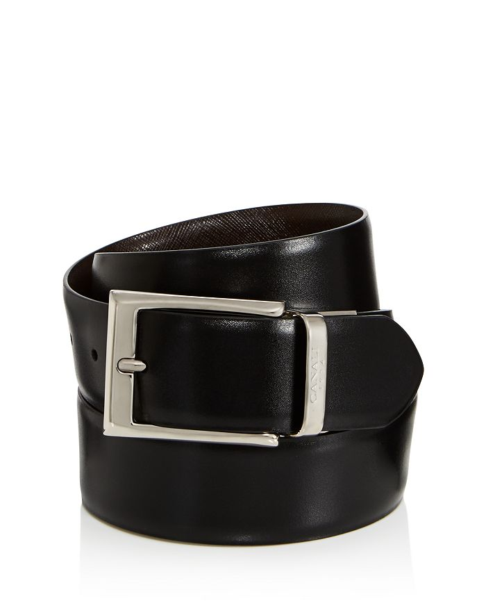 Canali - Men's Reversible Leather Belt