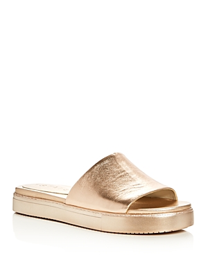 1.state Joaquin Metallic Slide Sandals