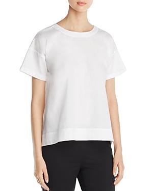 Eileen Fisher Stretch Cotton Top