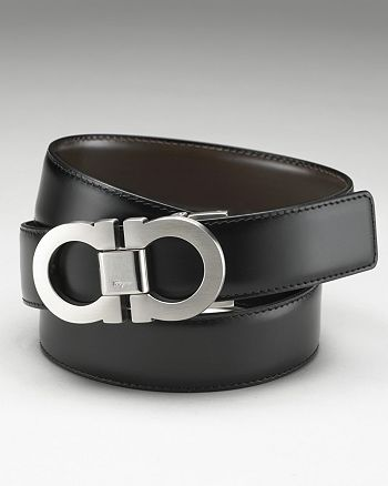 Men S Clic Double Gancini Reversible Belt