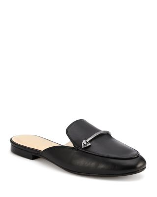 CLARE LEATHER MULES