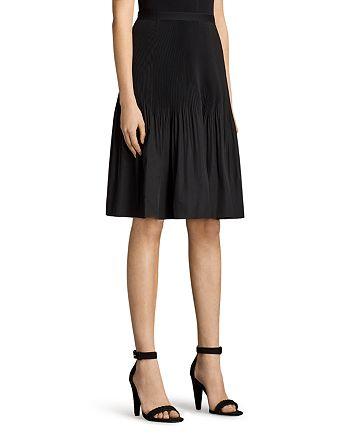 1191556a7d ALLSAINTS Crinkle Pleat Skirt | Bloomingdale's