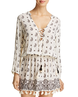 Coolchange Chloe Tunic Paisley Swim Cover-Up