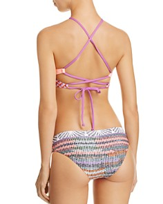 Maaji - Charlie's Angles High Neck Bikini Top & Charlie's Angles Hipster Bikini Bottom