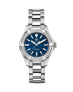 TAG Heuer Aquaracer Diamond Watch, 36mm - Bloomingdale's_0