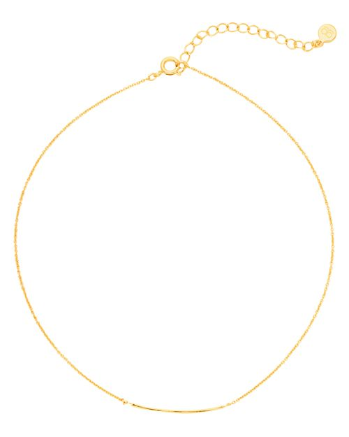 "Gorjana - Taner Bar Choker Necklace, 12"""