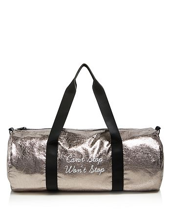 twelveNYC - Metallic Duffel Gym Bag - 100% Exclusive