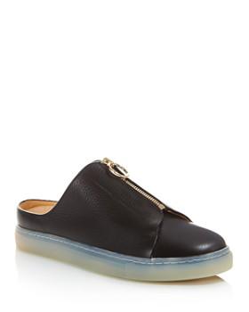 Pairs in Paris - Women's Trudaine Leather Sneaker Mules - 100% Exclusive