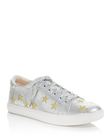 $Kenneth Cole Kam Star Metallic Leather Lace Up Sneakers - 100% Exclusive - Bloomingdale's