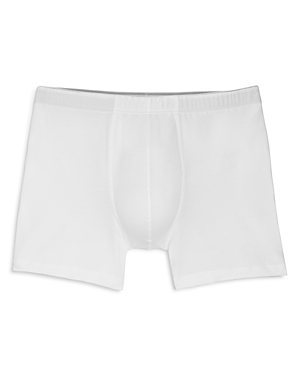 Hanro Cotton Superior Long-Leg Boxer Briefs