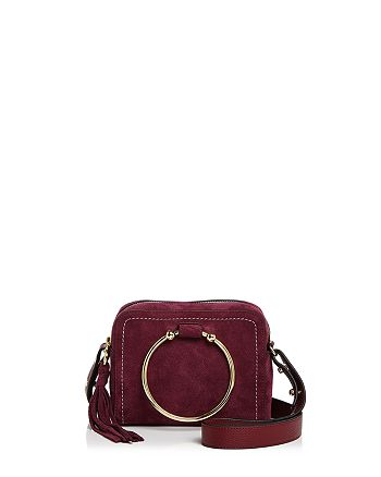 Milly Astor Suede Camera Bag 100 Exclusive