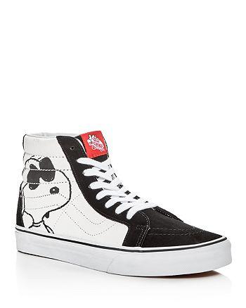 Vans - Men's SK8-Hi Peanuts High Top Sneakers