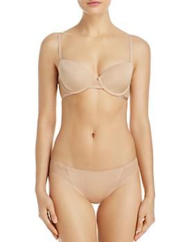 Le Mystère - Shine & Sheer Demi Bra & Bikini