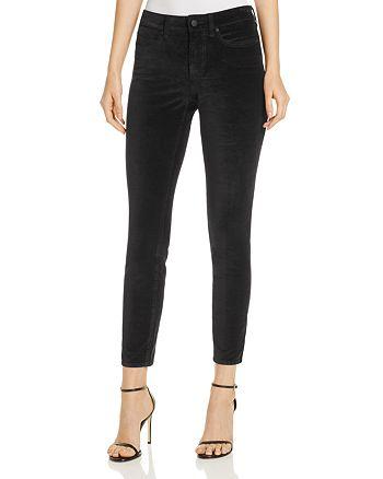 NYDJ - Ami Velvet Legging Jeans in Black - 100% Exclusive