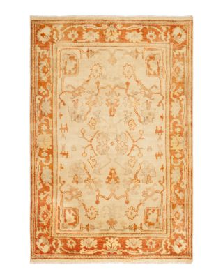 Oushak Collection - Brunswick Area Rug, 4' x 6'