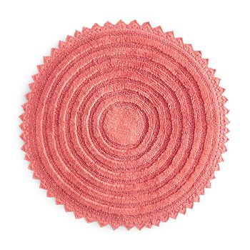 Sky - Round Crochet Bath Rug