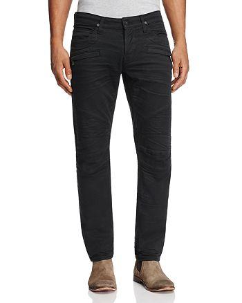 Hudson - Blinder Biker Super Slim Fit Jeans in Blacklight