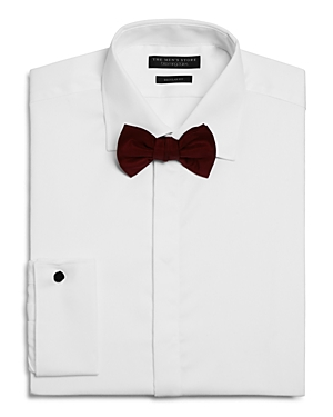 The Men's Store at Bloomingdale's Textured Regular Fit Tuxedo Shirt - 100% Exclusive