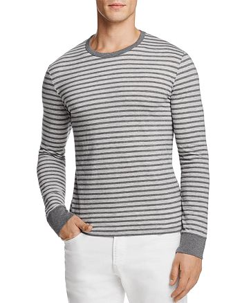 Polo Ralph Lauren - Heather Stripe Long Sleeve Tee - 100% Exclusive