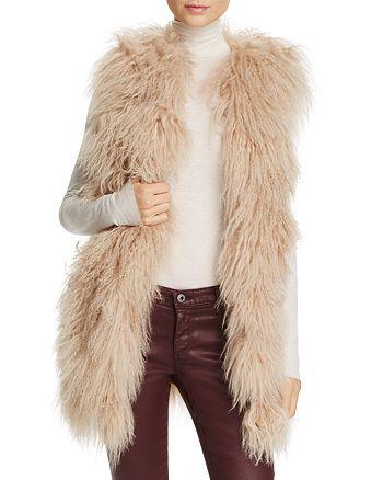 Jocelyn - Tibetan Lamb Fur Vest - 100% Exclusive