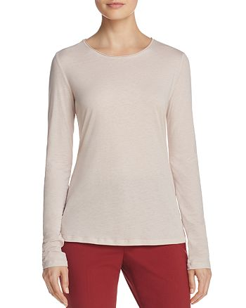 Theory - Basic Cotton and Cashmere Jersey Top