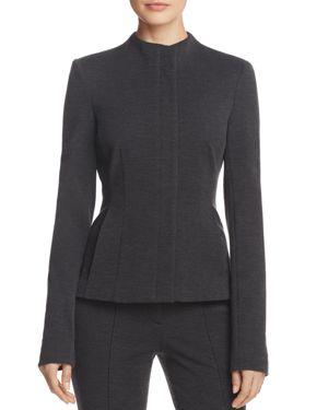 Theory Sculpted Knit Twill Jacket