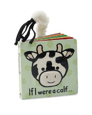 Jellycat If I Were a Calf Book - Ages 0+