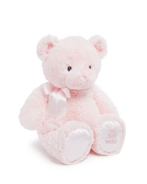 Gund Girl's My First Teddy, 24 - Ages 0+