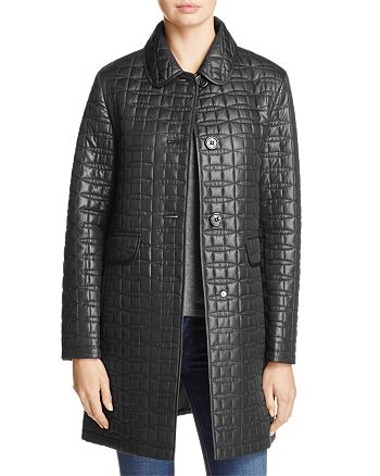 kate spade new york - Bow Quilted Coat