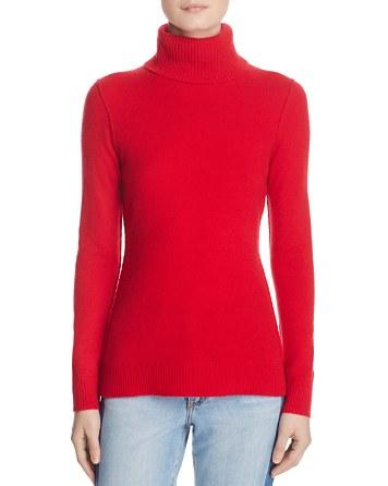 $AQUA Cashmere Turtleneck Cashmere Sweater - 100% Exclusive - Bloomingdale's