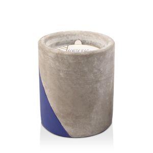 Paddywax Urban Concrete Pot Indigo Driftwood Candle
