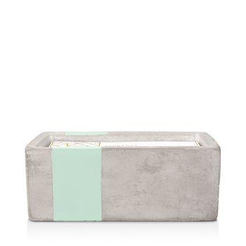 Paddywax - Urban Concrete Rectangle Mint Sea Salt & Sage Candle