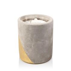 Paddywax - Urban Concrete Pot Gold Amber & Smoke Candle