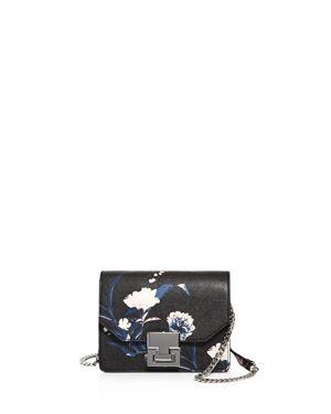 Ivanka Trump Hopewell Floral Mini Saffiano Leather Crossbody