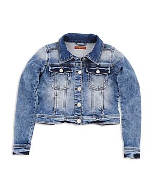 7 For All Mankind Girls Denim Jacket  Big Kid
