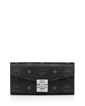 MCM - Patricia Visetos Large Chain Wallet