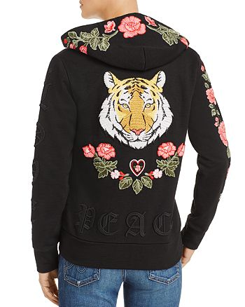 CHASER - Tiger Embroidered Hoodie, Fashion Find - 100% Exclusive