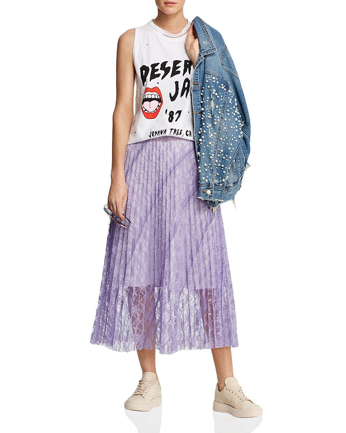 Sunset & Spring - Embellished Denim Jacket - 100% Exclusive, Michelle by Comune Muscle Tank & More