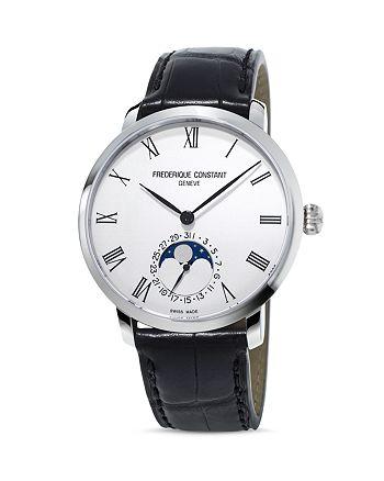 Frederique Constant - Manufacture Slimline Moonphase Watch, 42mm